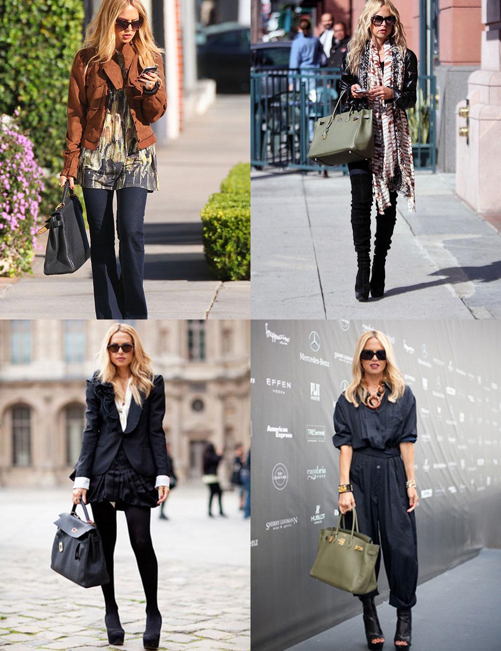 a9a27471b11 A stylist tem uma coleção de bolsas Hermès